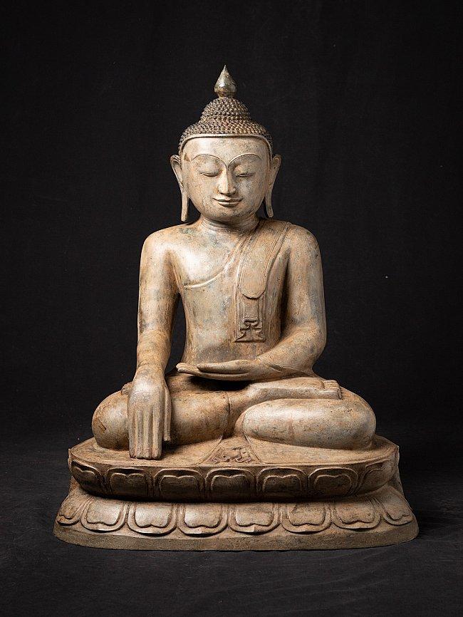 Alte Birmanische bronze Buddhafigur
