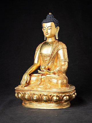 Nieuwe bronzen Nepalese Boeddha
