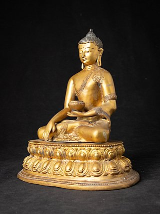 Nepalesische bronze Buddhafigur