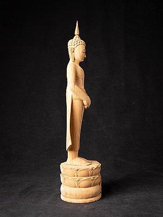 Newly made teakwooden Buddha statue