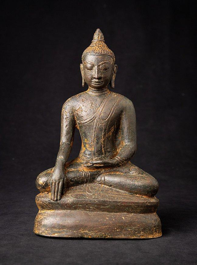 Special antique bronze Burmese Arakan Buddha