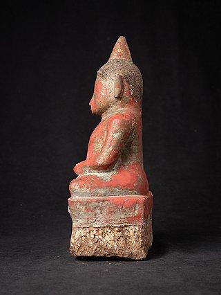 Antique sandstone Laos Buddha - Champasak