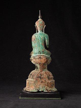 Bijzondere antieke bronzen Shan Boeddha