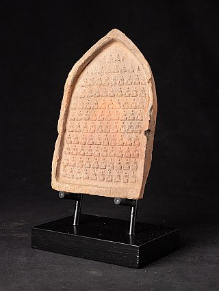 12e eeuws Terracotta Bagan Tablet