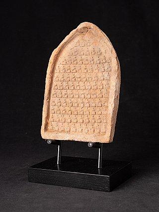 12e eeuws Terracotta Bagan Tablet