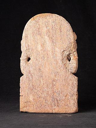 Zandstenen Ganesha beeld