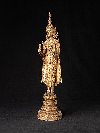 Antike Thai Rattanakosin Buddha statue