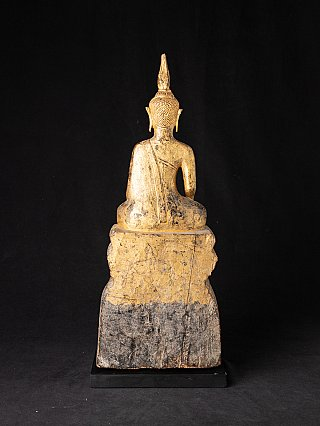Antieke houten Laotiaanse Boeddha
