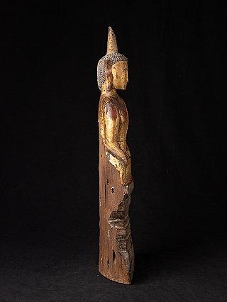 Antique wooden Laotian Buddha