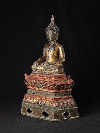 Antike Bronze laotischen Buddhafigur