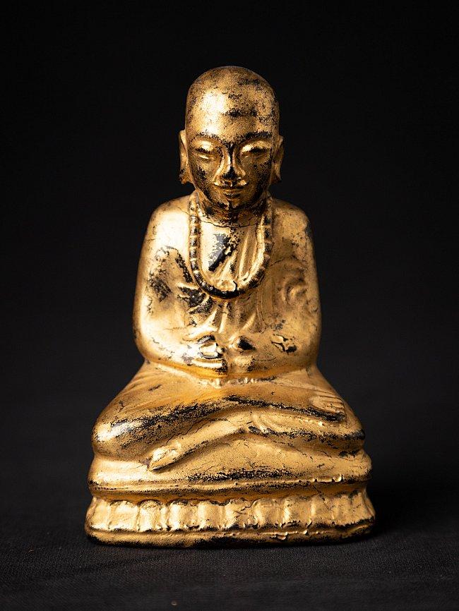 Antike Birmanische Mönch Figur