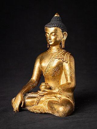 Old Nepali bronze Buddha