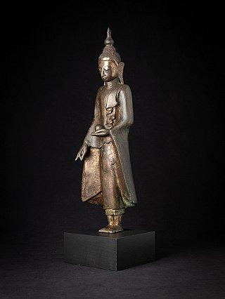 Besondere antike bronze Shan Buddha