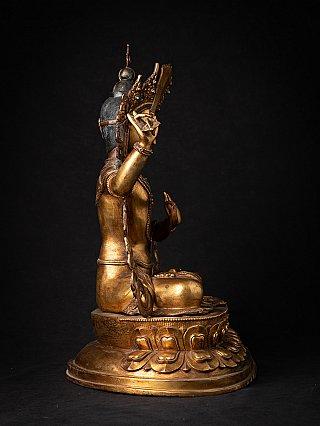 Alte bronze Nepalesische Manjushri