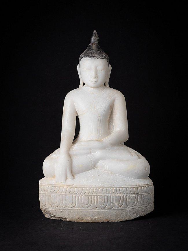 Antike marmor Buddhafigur