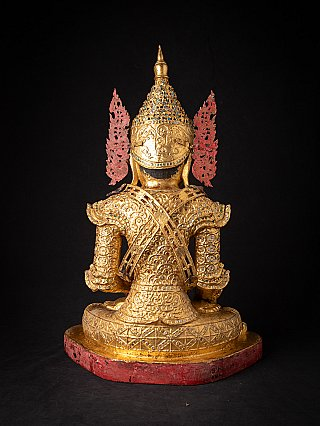 Special Burmese crowned Buddha statue