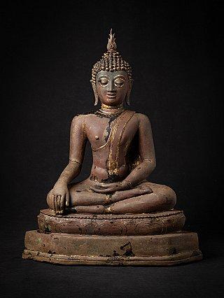 Antique Thai Lanna Buddha statue