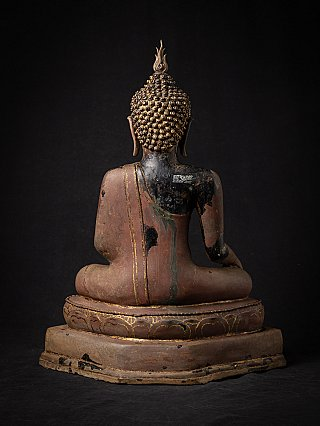 Antique Thai Lanna Buddha statue