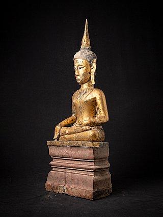 Grote antieke Laotiaanse Boeddha