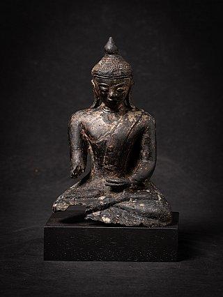 Antique bronze Burmese Ava Buddha statue