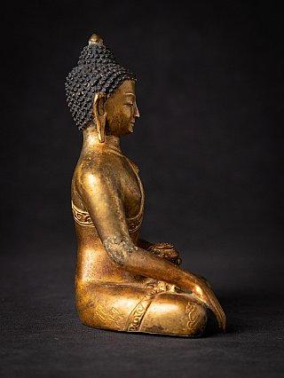Oude bronzen Nepalese Boeddha