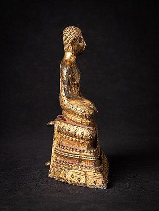 Antike Bronze Thai Mönch Figur