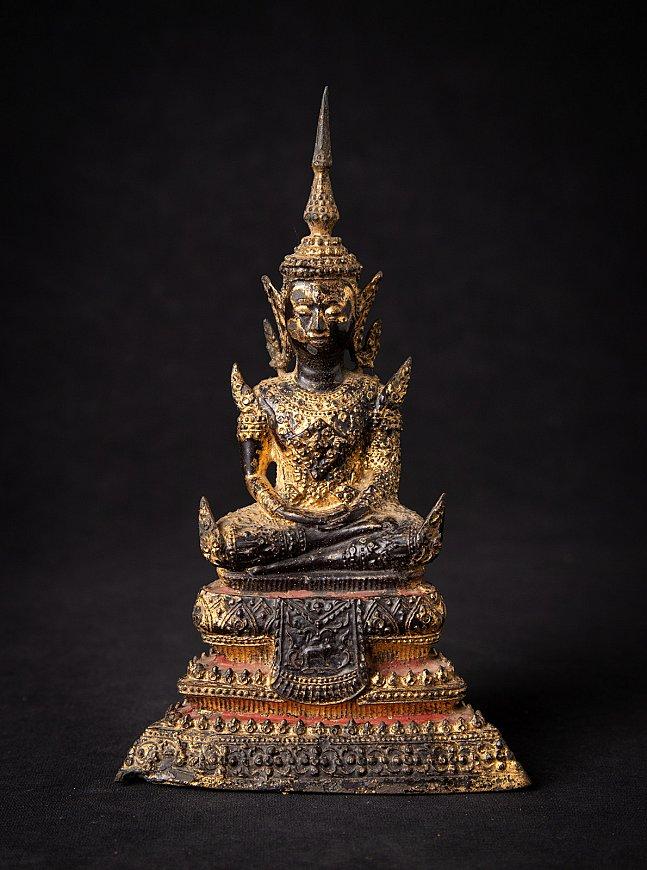 Antieke Thaise bronzen Rattanakosin Boeddha