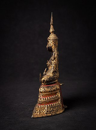 Antike Thailandische bronze Rattanakosin Buddha