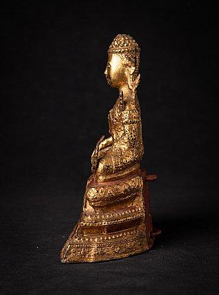 Antike Thailandische bronze Buddhafigur