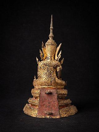 Antike bronze Rattanakosin Buddhafigur