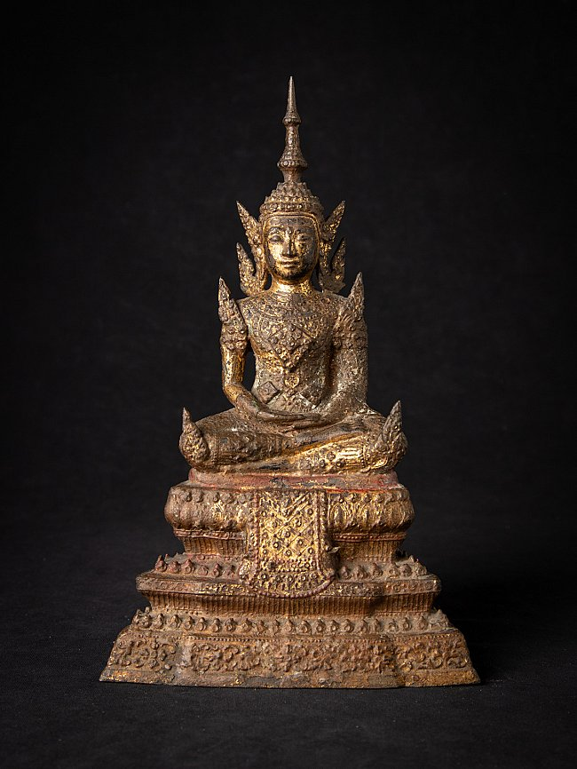 Antike bronze Thailand Rattanakosin Buddha