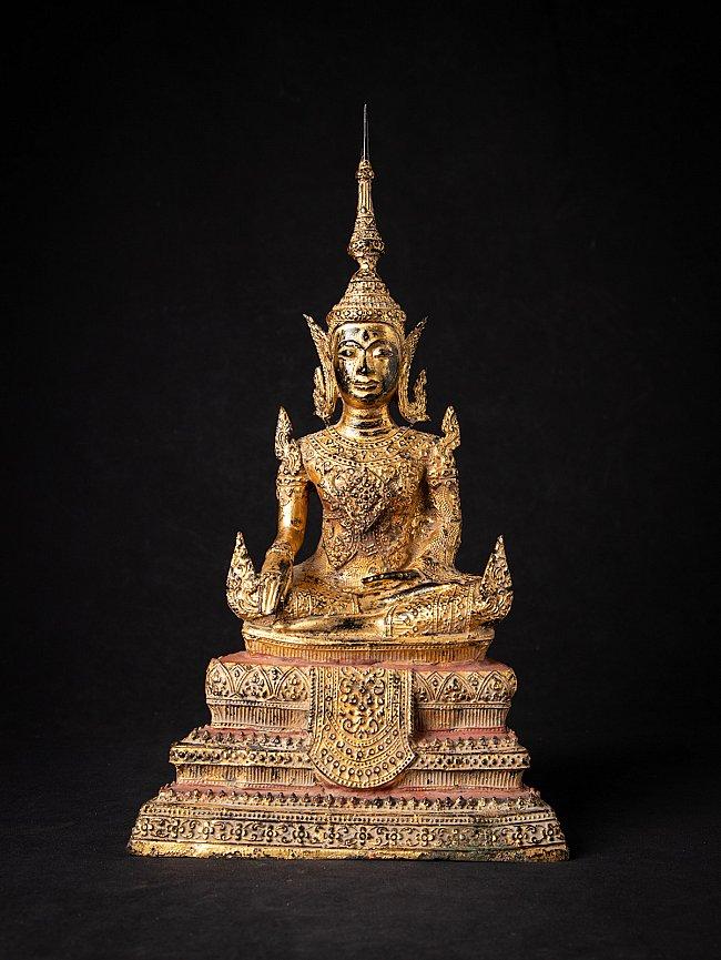 Antiek bronzen Thais Boeddhabeeld