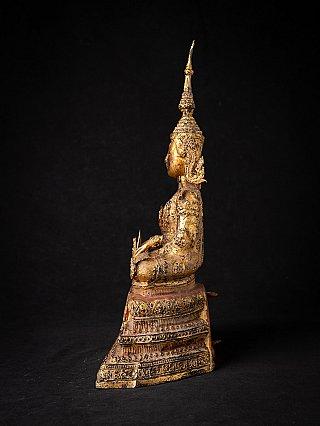 Antieke bronzen Thaise Rattanakosin Boeddha