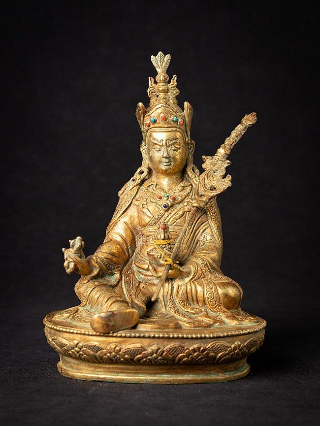 Old bronze Nepali Padmasambhava statue