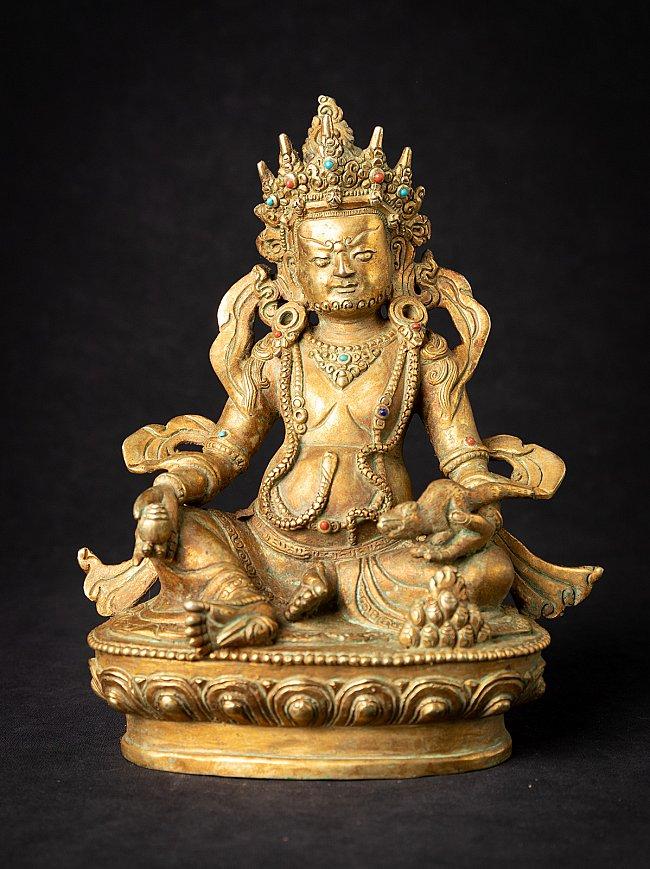 Old bronze Nepali Jambhala statue