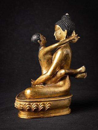 Old bronze Samantabhadra statue