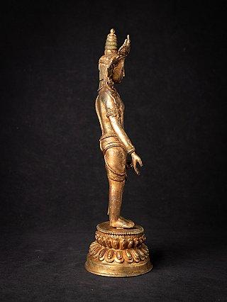 Antique bronze Nepali Tara statue