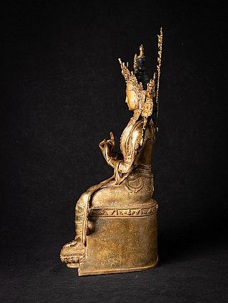Alte bronze Nepalesische Maitreya Buddha