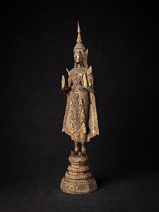 Antike Bronze Thai Rattanakosin Buddha
