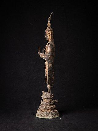 Antieke bronzen Thaise Boeddha