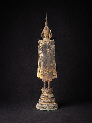 Antike bronze Thailandische Rattanakosin Buddha