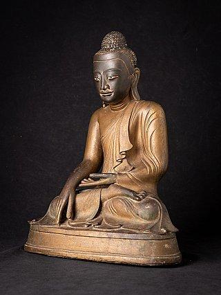 Antieke bronzen Birmese Mandalay Boeddha
