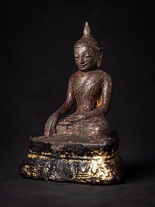 Very early bronze Burmese Buddha statue