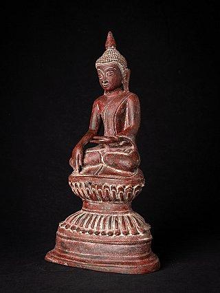 Bijzondere antieke bronzen Birmese Boeddha