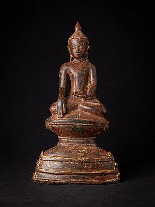 Special antique bronze Burmese Buddha statue