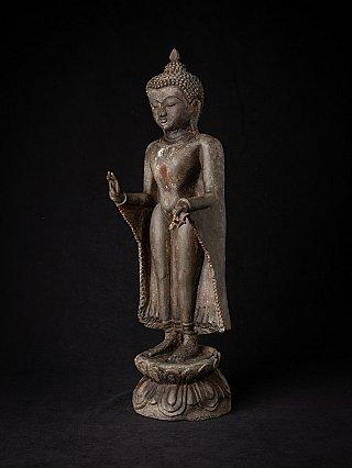 Oude bronzen Birmese Bagan Boeddha