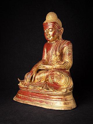 Antique bronze Mandalay Buddha statue