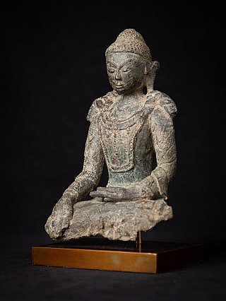 Very early bronze Burmese Arakan Buddha
