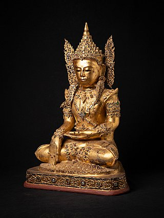 Special large antique crowned Buddha statue