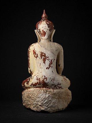 Very special museum quality Alabaster Buddha